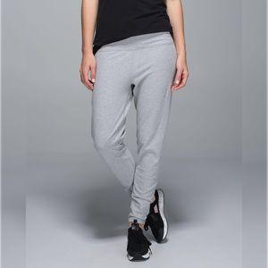 Lululemon Atman Pant Cotton Heathered Medium Grey